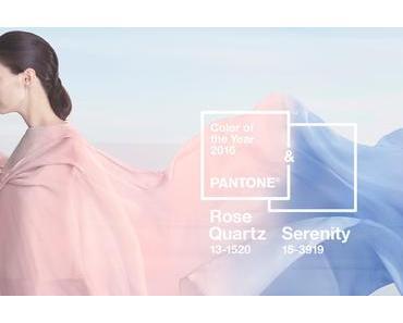 PANTONE Farben des Jahres 2016: Serenity & Rose Quartz