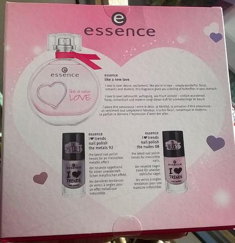 essence fragrance set - like a new love (LE)