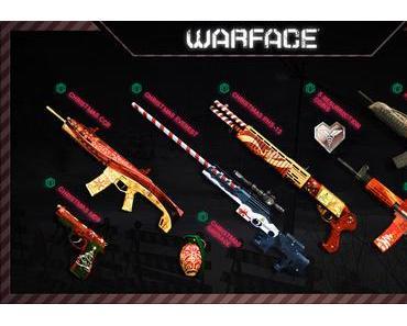 Warface Wintergewinnspiel: Sichert euch weihnachtliche Waffen und Gifs + Extra Kredit Sonderangebote!