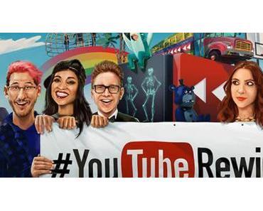 Von der Strandparty, über eine Bustour bis hin zur Zeitreise: YoutubeRewind 2015