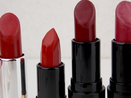 [Blogparade] 7 Shades of ... red | Lippenstifte