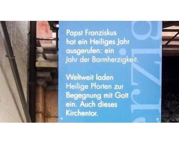 Heilige Pforte der Basilika Mariazell im Jahr der Barmherzigkeit