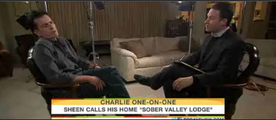 Charlie Sheen Interview: