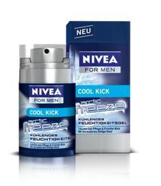 Nivea For Men - Arctic Freeze Feuchtigkeitsgel
