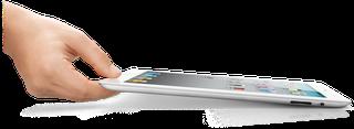 Das neue Apple iPad 2: Wirklich schneller, dünner und leichter.