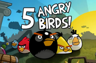 Angry Birds ab April bei Facebook.