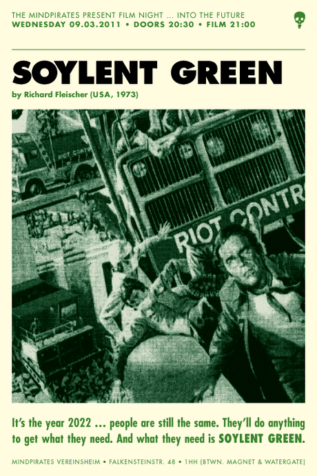 soylent green essay Soylent, neoliberalism and the politics of life hacking peters' essay concluded with an overt threat: in the 1973 sf movie soylent green.
