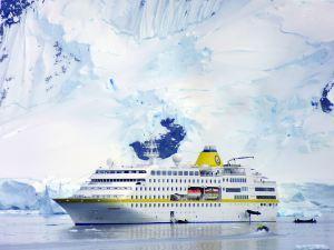 MS HAMBURG: Weiße Weihnacht in der Antarktis