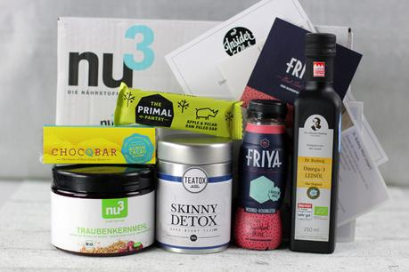 nu3 Insider Club Teatox Skinny Detox, Chocqbar, The Primal Pantry & more