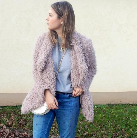 Outfit: Fluffy Coat