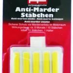 Marder vertreiben mit Anti-Marder-Stäbchen