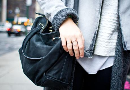 Outfit: New York City - shades of grey