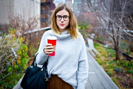 Outfit: Cozy @ High Line Park // New York