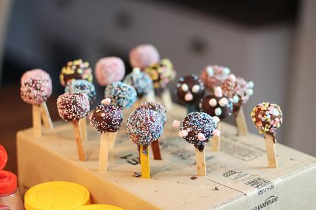 Cake Pops als Party Mitbringesel