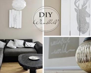 Wohnzimmer Refashion und DiY Wandbild