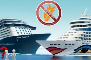 Reisebericht Aida Sol vs Tui Mein Schiff 4 – Ein Vergleich der glutenfreien Versorgung an Bord