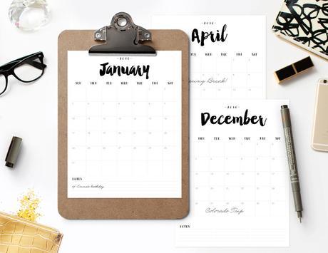 die sch nsten kalender f r 2016. Black Bedroom Furniture Sets. Home Design Ideas