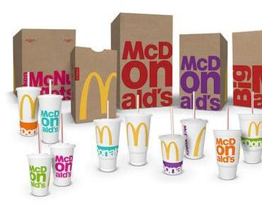 McDonald's führt neues Verpackungsdesign ein