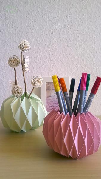 Origami gl ser versch nern - Marmelade einkochen glaser ...