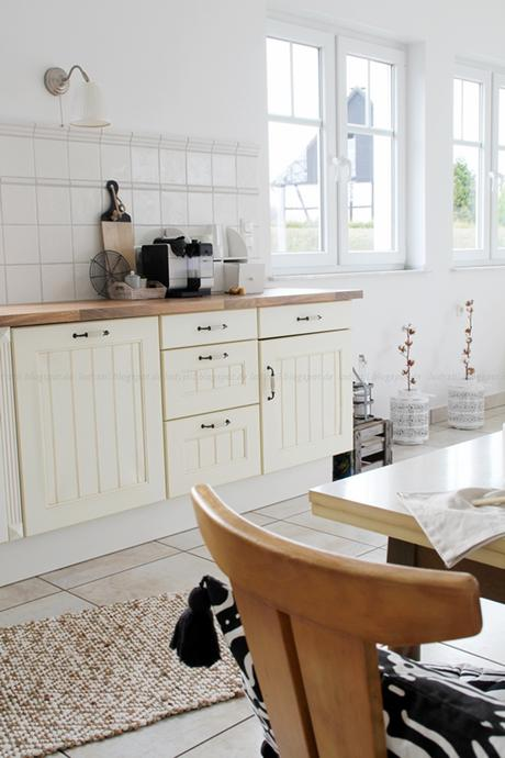 Deko-Donnerstag Vorher/Nachher Renovierung Küche