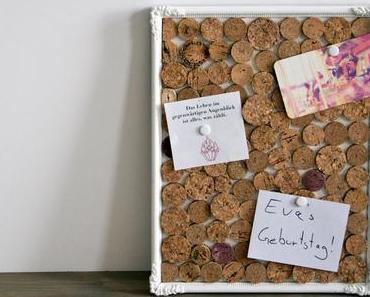 schereleimpapier für FROSCHBLOG: Kork-Upcycling