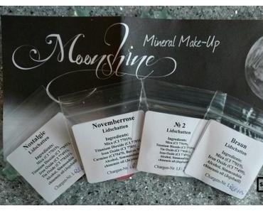 [Haul] Lidschatten von Moonshine Mineral Make-Up