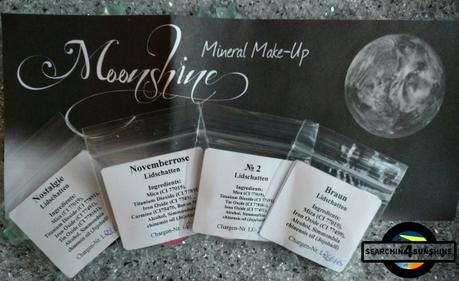 [Haul] Lidschatten von Moonshine Mineral Make-Up