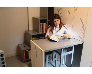 Funktional muss es sein: Eine 8 m² Wohnung in Paris sinnvoll eingerichtet