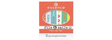 essence Sortimentswechsel Frühling Sommer 2016 Neuheiten - Preview - file & smile mini nail files