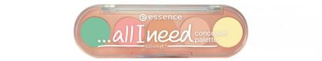 essence Sortimentswechsel Frühling Sommer 2016 Neuheiten - Preview - …all I need concealer palette