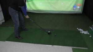 Wallgang besucht Kim Screen Golf in Berlin