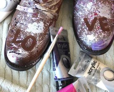 DIY Schuhe aufpeppen