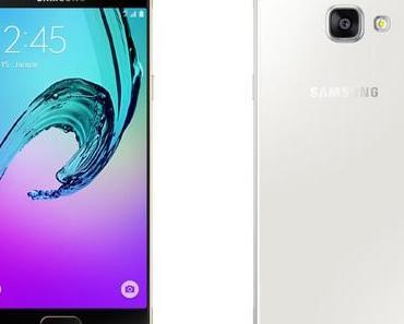 Neuigkeiten von Samsung: Galaxy A3 und A5 (2016) verfügbar