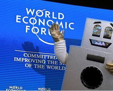 Roboter übernehmen das WEF in Davos