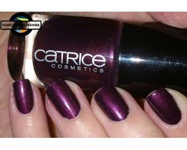 [Nails] LilaLauneLack mit CATRICE 59 First Class Up-Grape