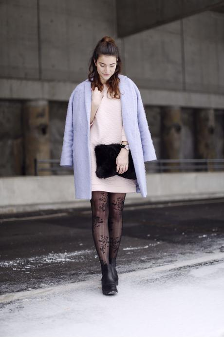monki dress fashion week outfit pantone 2016 serenity rose quartz winter pastels hoch ganz