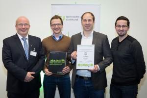 Volterion entwickelt kleine Redox-Flow-Batterien und gewinnt Startup-Award