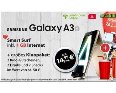 Smartphone Angebot: Samsung Galaxy A3 und A5 zum Sonderpreis!