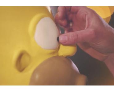 Lecker Torte – halb Homer halb Stormtrooper