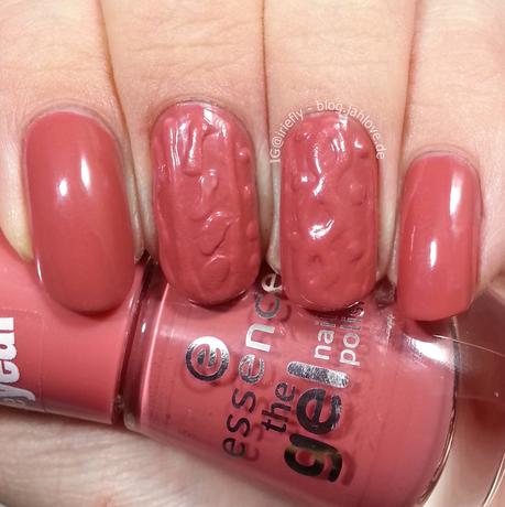 [Nails] Knit-Nails Essence Love Diary