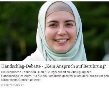 Feministin mit Kopftuch? - Volksverblödung pur...