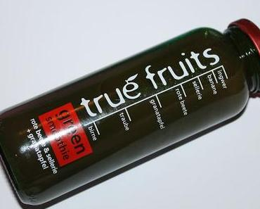 Gekostet: true fruits green smoothie rote beete + sellerie + granatapfel