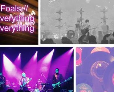 Konzertbericht: Everything Everything & Foals (Volkshaus Zürich, 27.01.16)