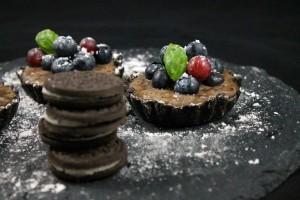 Sweet Sunday: Oreo-Blueberry-Tartelettes