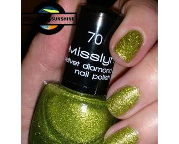 [Nails] Specialties mit Misslyn velvet diamond 70 SPARK OF HOPE