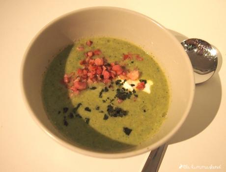 rezept zucchini suppe mit speck lowcarb. Black Bedroom Furniture Sets. Home Design Ideas