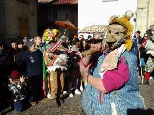 Karnevalistisches Treiben am Comer See