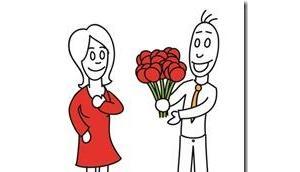 Valentinstag lässt grüßen Männer, Blumen sind angesagt!!