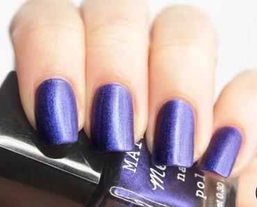 [Blue Friday] H&M Blue Metal Matte Metallic mit Trend It Up Holo Topper
