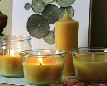 Meine erste Kerzenproduktion